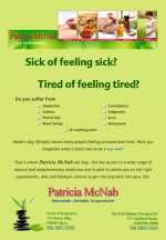 Patricia McNab Naturopath, Herbalist, acupuncture