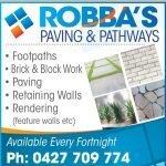 Robbas Paving and Pathways
