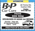 B and P Care Care